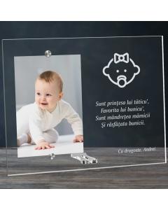 Cadou personalizat rama plexiglas - Cine sunt | Ghizbi.ro