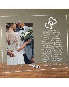 Cadou personalizat rama plexiglas - Dragostea este izvorul vietii | Ghizbi.ro