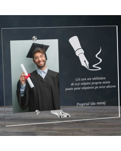 Cadou personalizat rama plexiglas - Puterea mintii | Ghizbi.ro