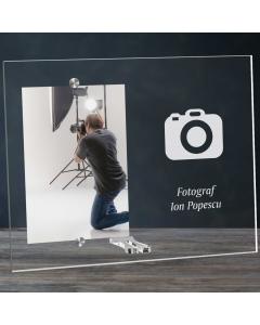 Cadou personalizat rama plexiglas -  Fotograf | Ghizbi.ro