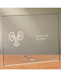 Cadou personalizat placheta din plexiglas - Doctor urolog