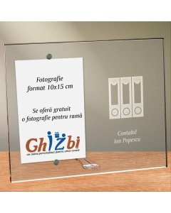 Cadou personalizat rama plexiglas -  Contabil | Ghizbi.ro