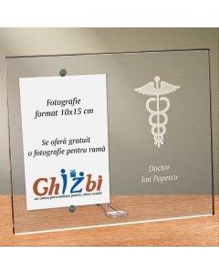 Cadou personalizat rama plexiglas -  Doctor
