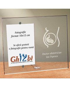 Cadou personalizat rama plexiglas -  Doctor obstetrician