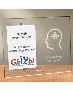 Cadou personalizat rama plexiglas -  Doctor psiholog | Ghizbi.ro