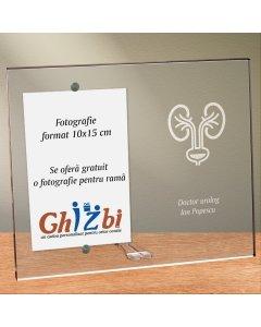 Cadou personalizat rama plexiglas -  Doctor urolog