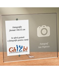 Cadou personalizat rama plexiglas -  Fotograf