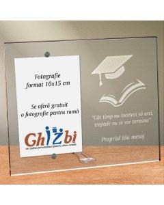 Cadou personalizat rama plexiglas - Nu inceta sa urci | Ghizbi.ro