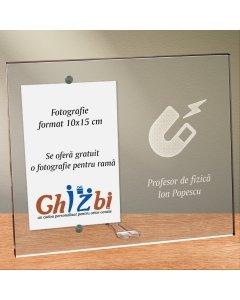 Cadou personalizat rama plexiglas - Profesor de fizica