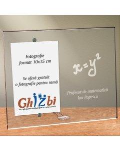 Cadou personalizat rama plexiglas - Profesor de matematica