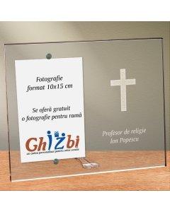 Cadou personalizat rama plexiglas - Profesor de religie | Ghizbi.ro