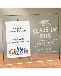 Cadou personalizat rama plexiglas - Reflectiile absolventului | Ghizbi.ro