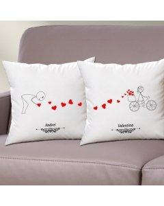 Cadou personalizat set perne - Toata dragostea mea pentru tine