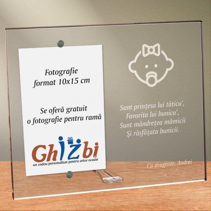 Cadou personalizat rama plexiglas - Cine sunt