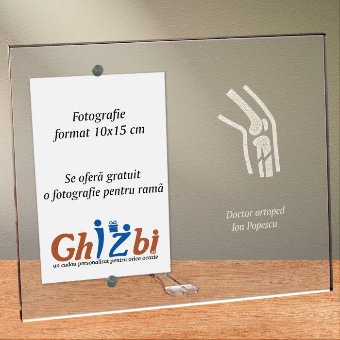 Cadou personalizat rama plexiglas -  Doctor ortoped