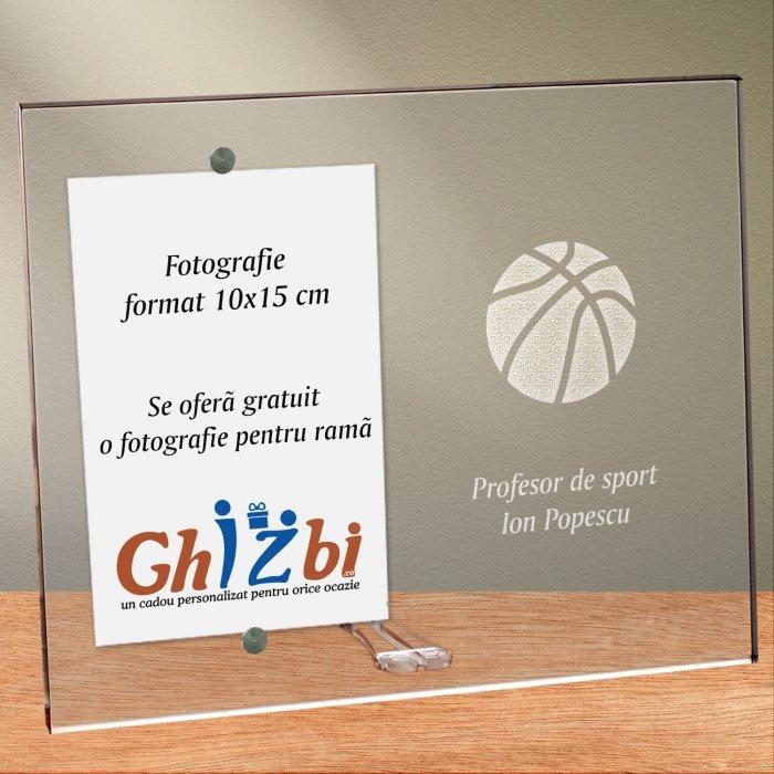 Cadou personalizat rama plexiglas - Profesor de sport