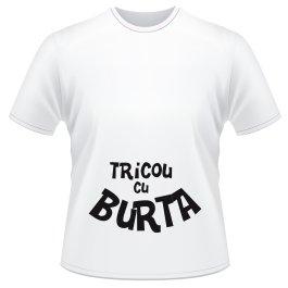 Cadou personalizat tricou - Cand burta este din cauza tricoului