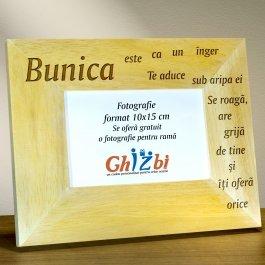 Cadou personalizat rama din lemn - Ce este o bunica